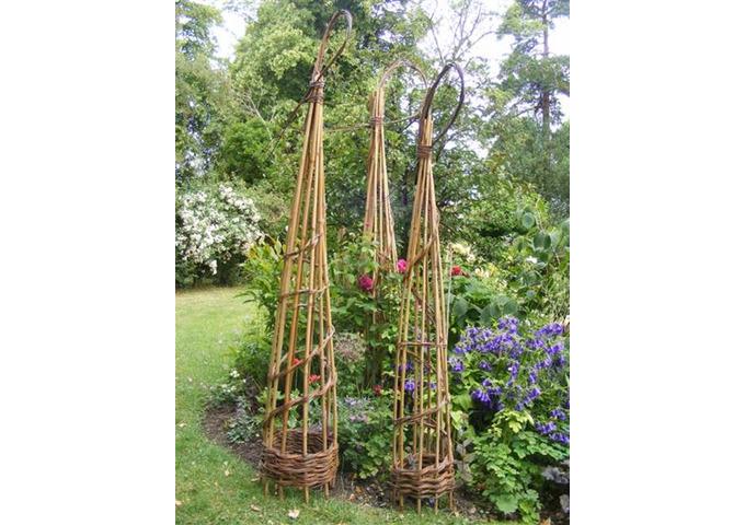 Obelisk & Platter Willow Weaving Workshop