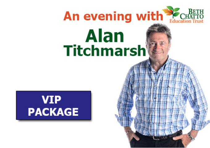 VIP package to an 'Evening with Alan Titchmarsh'