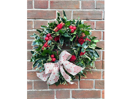 Foliage Wreaths and Christmas Arrangements
