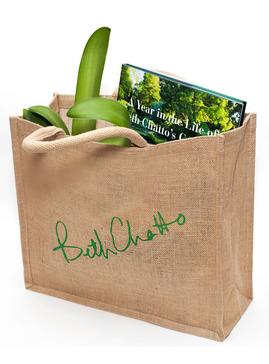 Beth Chatto Jute Bag