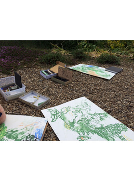 Drawing the Garden in Summer