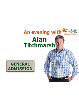 Admission to an 'Evening with Alan Titchmarsh'