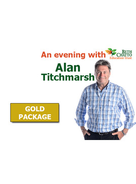 Gold package for an 'Evening with Alan Titchmarsh'