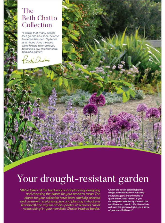 The Drought Resistant Plant Collection The Beth Chatto Gardens
