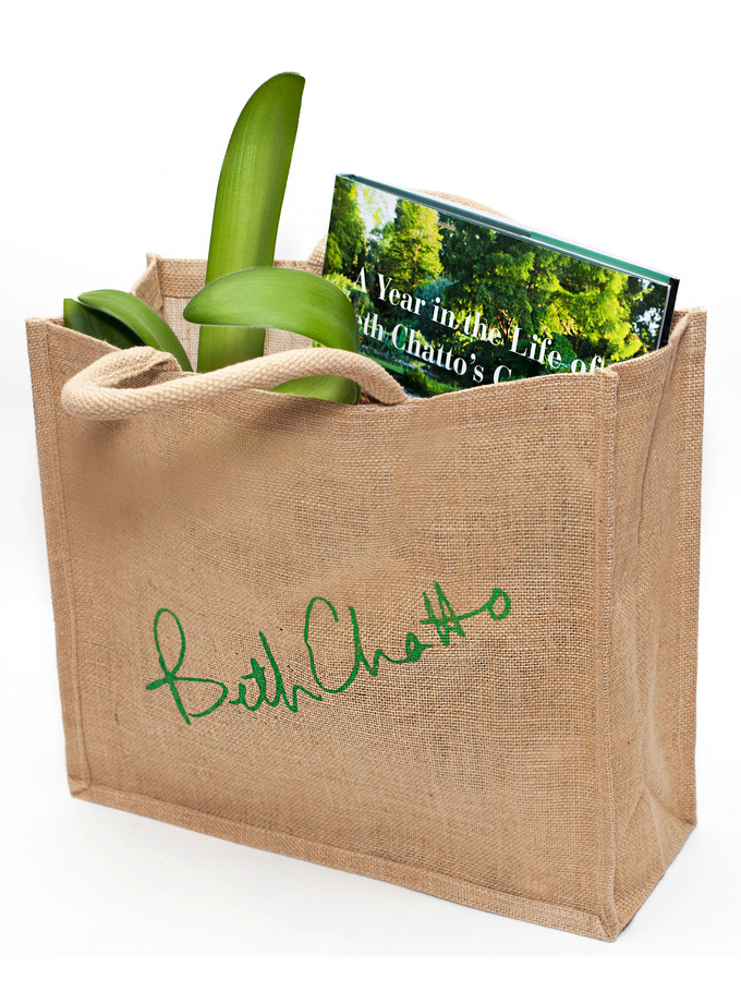 Beth Chatto Jute Bag