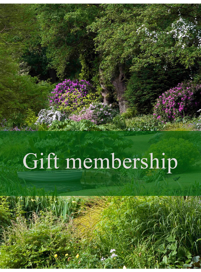 Friends of the Garden annual pass Gold Card Gift
