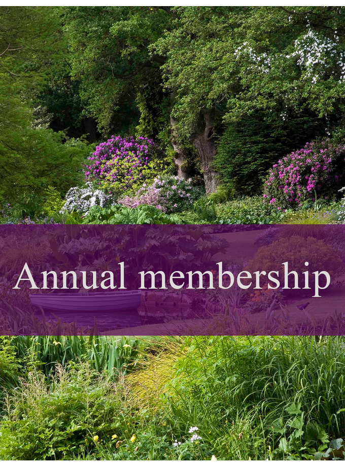 Friends of the Garden annual pass double